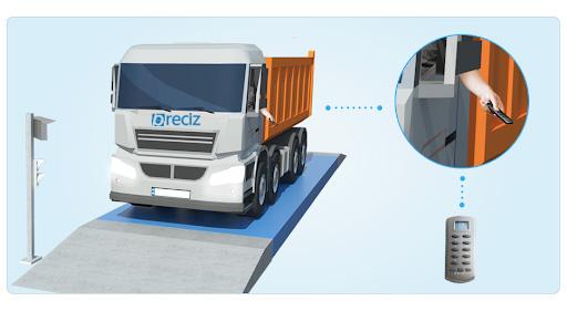 Remote Truck Weighing© by Preciz